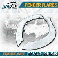 Front WHITE FENDER FLARES fit for TOYOTA HILUX 2011 2012 2013 2014 2015 GUARD