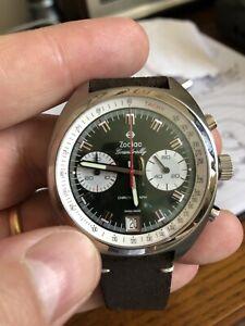 Zodiac Grandrally Wrist Watch for Men, Swiss Made