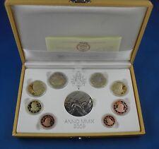 KMS Kursmünzensatz Vatikan 2009 PP Polierte Platte RAR