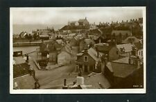 More details for findochty banffshire - a view of village showing post office by tuck rp c1950
