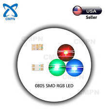 100Pcs 0805 2012 SMD LED SMT Chip RGB Tri-Color Common Anode Light Lamp Diodes