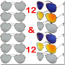 24 Pack Aviator Party Sunglasses Photobooth Props Party Wholesale Bulk Lot New