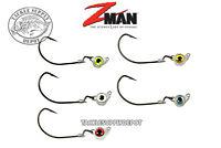 Z-Man Texas Eye Jigheads Swing Head Pivot Jig 1/8oz 3pk - Pick
