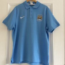Nike Manchester City Polo Shirt Size XL