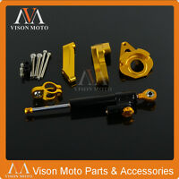 Steering Damper Kit With Bracket for Suzuki GSXR600 GSXR750 04 05 K4 K5