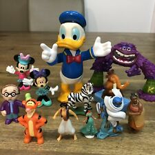 Disney Character Toys Figurines Donald Duck Minnie Mouse