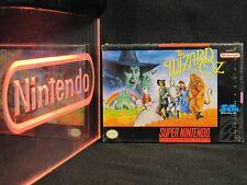 Super Nintendo SNES The Wizard of Oz Brand New NIB Factory Sealed Excellent RARE
