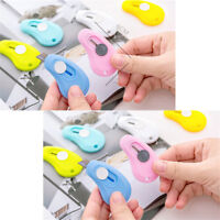 10Pcs Mini Small Paper Cutter Knife Office School Stationery Retractable Blade
