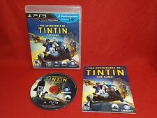 The Adventures of Tintin: The Game (Sony PlayStation 3 PS3, 2011)