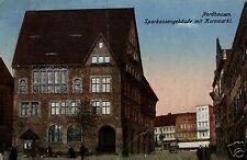 3940/ Foto AK, Nordhausen, Sparkasse, Kornmarkt, 1928