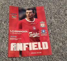 209) Liverpool v Everton premiership 31-1-2004