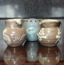 3 Pieces of Clevedon Pottery, William Fishley Holland & George Tonkin Holland