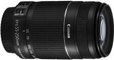 Canon EF-S 55 - 250 mm f/4-5.6 IS II Lens (NERO, Teleobiettivo Zoom)
