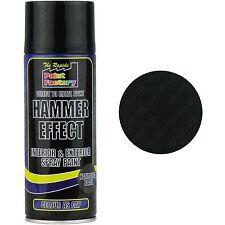 1 X Nero Martello effetto vernice Spray può esterno interno in metallo ruggine 400ml