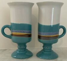 Otagiri Irish Coffee Mugs Set of 2 Vintage Stoneware