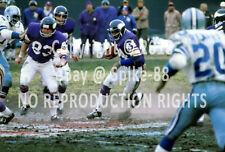 CHUCK FOREMAN,STU VOIGT,ED MARINARO MINNESOTA VIKINGS VS. DALLAS COWBOYS 1975