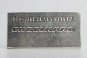 Engelhard Silver 50oz. Bullion