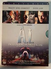 PELICULA DVD INTELIGENCIA ARTIFICIAL EDICION ESPECIAL 2 DISCOS DIGIPACK