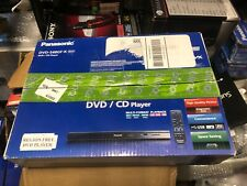 Panasonic DVD-S48P-K Multi-Format DVD/CD Player With Remote New In Box Unopened