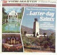 Church of Jesus Christ of Latter-day Saints 3D View-Master 3 Reel Packet NEW
