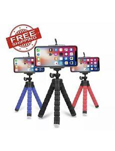 Mini Flexible Sponge Octopus Tripod for iPhone Samsung Gopro 8 7 5 Camera NEW