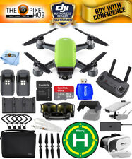 DJI Spark Fly More Combo (Meadow Green)!! EXTREME ACCESSORY BUNDLE BRAND NEW!!