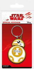 Gummi Schlüsselanhänger STAR WARS 8 - BB-8 - The Last Jedi Rubber Keyring 38746