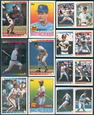 Mark McGwire #172/17 Dave Henderson 1989 Topps sticker