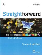 Macmillan STRAIGHTFORWARD Second Edition PRE-INTERMEDIATE Student's Book @NEW@