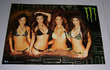 "MONSTER ENERGY GIRLS POSTER 22"" X 15 1/2"" BRAND NEW!"