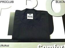 3 NEW PROCLUB HEAVY WEIGHT T-SHIRT BLACK PLAIN PRO CLUB BLANK XLT TALL 3PC