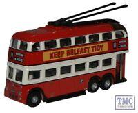 NQ1002 Oxford Diecast Belfast B.U.T. Trolleybus 1/148 Scale N Gauge