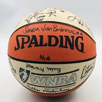 1998 LA Los Angeles Sparks Autographed Basketball WNBA Official Basketball Toler