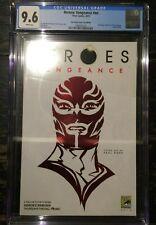 Heroes Vengeance #NN San Diego Comic Con Red Foil Logo CGC 9.6 1989830024
