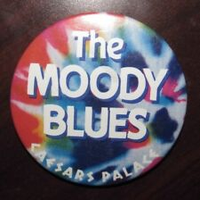 Vintage The Moody Blues Caesars Palace Concert Pinback Button