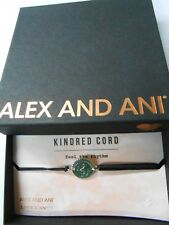 Alex and Ani Kindred Cord FEEL THE RHYTHM Bracelet Sterling Silver NWTBC 2017