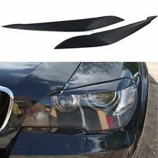 BMW X5 E70 Eyebrows Headlight Spoilers Lightbrows Eye Lids Brow Cover Pair Set