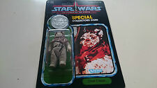 VINTAGE STYLE STAR WARS CUSTOM POTF CHIEF CHIRPA POWER OF THE FORCE RECARD
