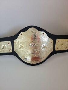 Vintage Toy Jakks WWE World Heavyweight Wrestling Champion Belt Kids Toy Display