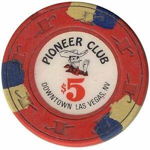 Frontier Club Casino Las Vegas NV $5 Chip 1940s