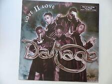 "MAXI 12"" DAMAGE Love II love 192223 1"