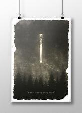 """The Walking Dead Poster - Negan """"eeny meeny miny moe"""""""
