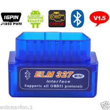 ELM327 Bluetooth OBD2 II  Car Diagnostic Interface ELM 327 Wireless Scan Tool