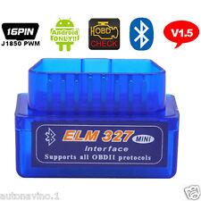 ELM327 Bluetooth OBD2 II  Car Diagnostic Interface ELM 327 Wireless Scan Tool