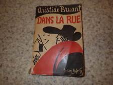 1924.Dans la rue.Aristide Bruant.Ill.Lucien Laforge.Steinlen.Poulbot