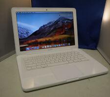 """Apple MacBook Unibody A1342 13.3"""" Laptop 2.4Ghz 2GB 120GB SSD 10.13 High Sierra"""