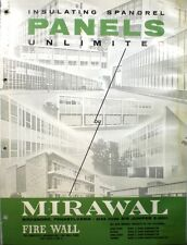 1962 MIRAWAL Building Panels Catalog ASBESTOS Miracoil BIRDSBORO