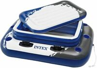 Intex 58821NP Nevera Hinchable y Flotante 122 x 97 cm para 72 Latas de refrescos
