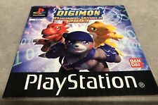 DIGIMON WORLD 2003 Manual Only Sony PlayStation 1 Ps1