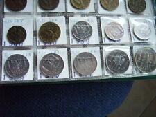 LEK da 0,05 a 2 lek 10 monete Albania 1939-1941